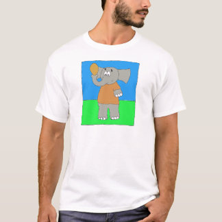 Elephant Football Nose T-Shirt