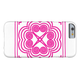 Elephant Footprint Motif in Pink Barely There iPhone 6 Case