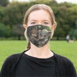 Elephant Friend by Jasmine Becket-Griffith Cloth Face Mask