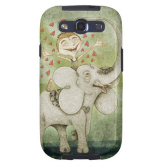 Elephant. Funny, fantastic, tender and imaginative Galaxy S3 Fundas