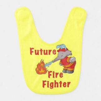 Elephant Future Fire Fighter Bib