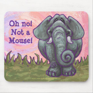 Elephant Gifts Accessories Mouse Pad