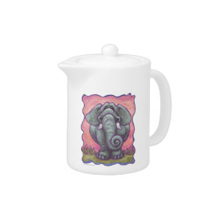 Elephant Gifts & Accessories Teapot at Zazzle