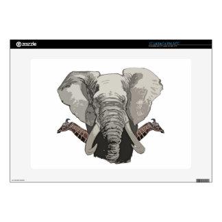 Elephant Giraffes Skins For Laptops