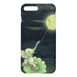Elephant Give me a string, I will fly to the Moon! iPhone 7 Plus Case