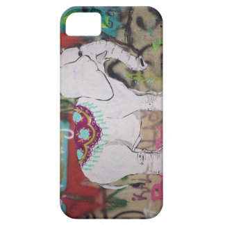 Elephant graffiti Iphone case