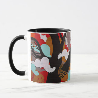 Elephant Graffiti Mug