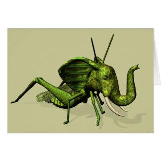 Elephant Grasshopper Crossbreed Card