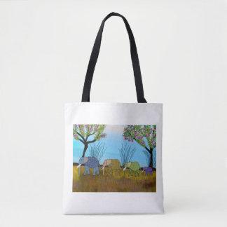Elephant Habitat Tote Bag