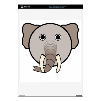 Elephant head cartoon skin for PS3 slim