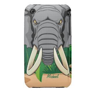 Elephant Head Look iPhone 3 Case