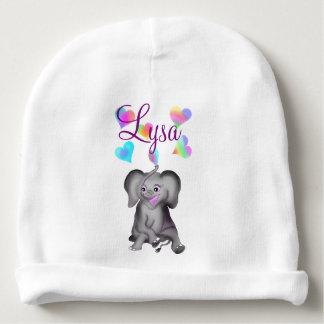 Elephant Hearts by The Happy Juul Company Baby Beanie