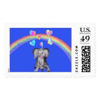 Elephant Hearts by The Happy Juul Company Postage
