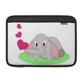 Elephant Hearts MacBook Sleeve
