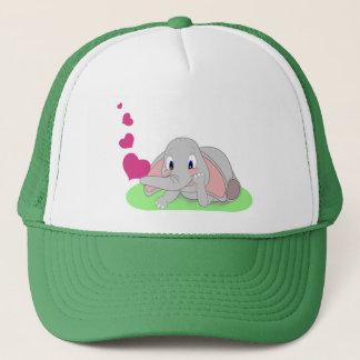 Elephant Hearts Trucker Hat