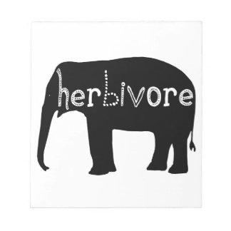 Elephant - Herbivore Notepad