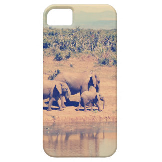 Elephant herd iPhone SE/5/5s case