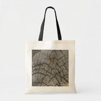 elephant hide canvas bag