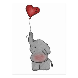 Elephant Holding Balloon Gifts On Zazzle