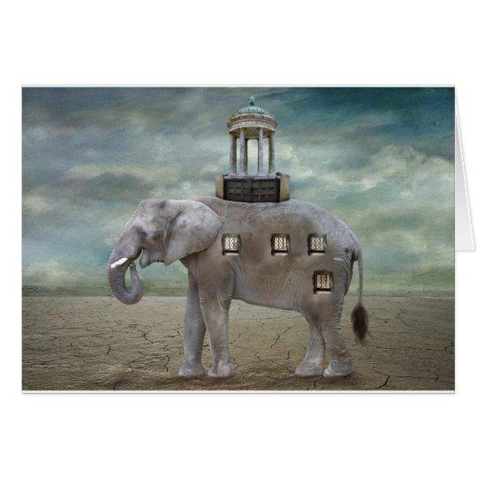 Elephant Hotel Card