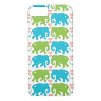 Elephant Hugs iPhone 7 6/S Case