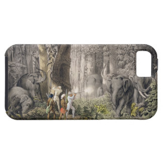 Elephant hunt in the region of Logalla, from 'Trav iPhone SE/5/5s Case