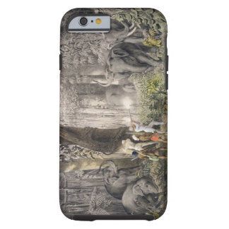 Elephant hunt in the region of Logalla, from 'Trav Tough iPhone 6 Case