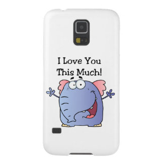 Elephant I Love You This Much Cases For Galaxy S5
