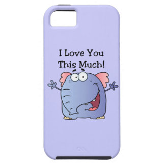 Elephant I Love You This Much iPhone 5 Cover