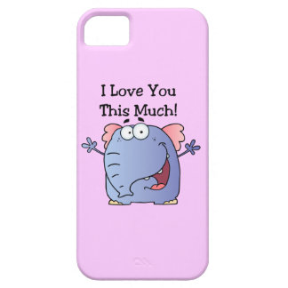 Elephant I Love You This Much iPhone 5 Covers
