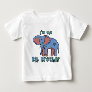 Elephant I'm the Big Brother Baby T-Shirt