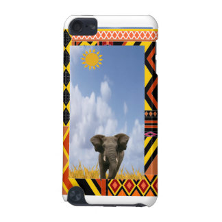 Elephant in Africa Scene for iPhone4 Case