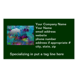 Elephant In Future Fantasyland - Tropical Business Cards
