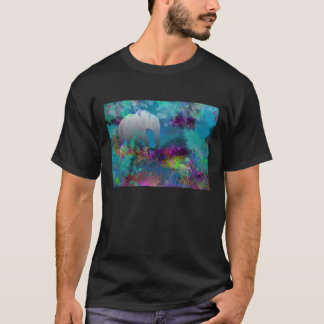 Elephant In Future Fantasyland - Tropical T-Shirt
