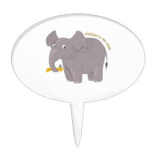 Elephant In Room Cake Pick