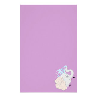 Elephant in Shower Stationery