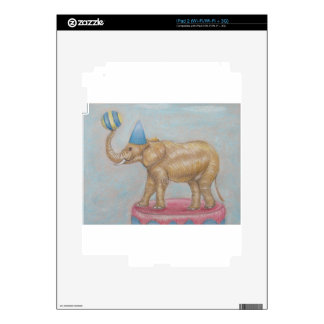 elephant in the circus iPad 2 decal