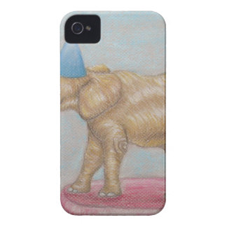 elephant in the circus iPhone 4 case