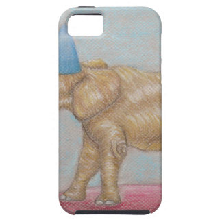 elephant in the circus iPhone SE/5/5s case