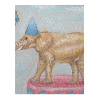 elephant in the circus letterhead