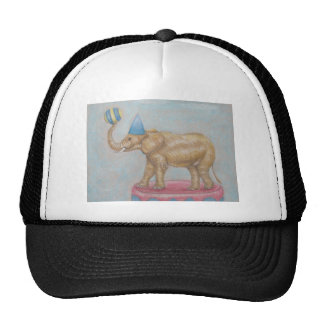elephant in the circus trucker hat