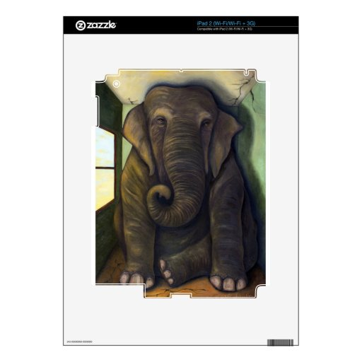 Elephant In The Room iPad 2 Skins