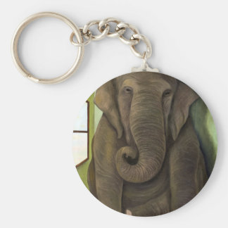 Elephant In The Room Keychain