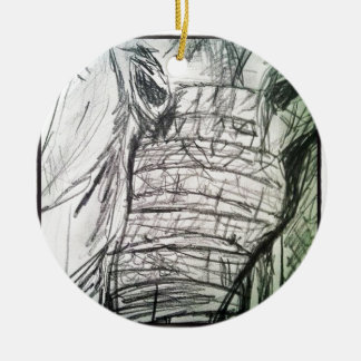 Elephant in the Room Christmas Tree Ornaments