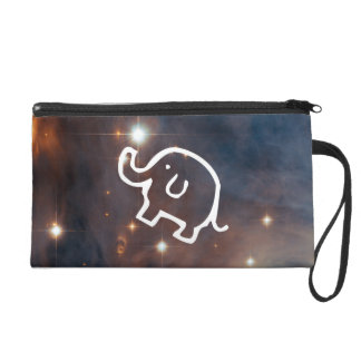 Elephant in the Stars Wristlet