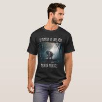 Elephant in the Woods Asthma Shirt