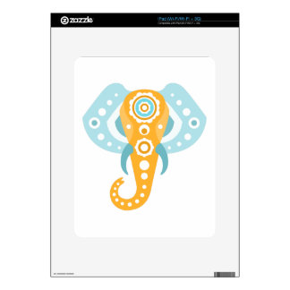 Elephant Indian Decal For The iPad