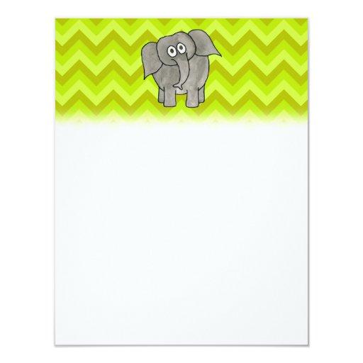Elephant. Invitations