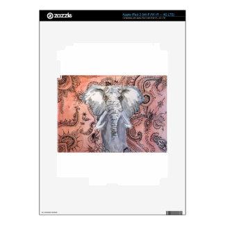 Elephant iPad 3 Decal