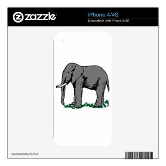 Elephant iPhone 4S Decal